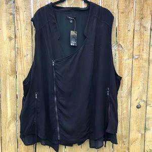 NWT Torrid Asymmetrical Vest